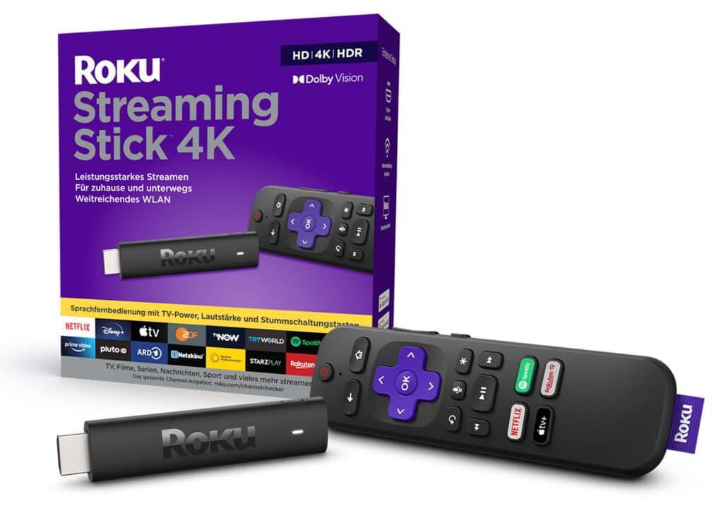 Roku Streaming Stick 4K: Vor diesem Gerät muss sich Amazon in Acht nehmen!