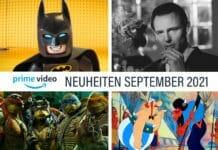 Neuheiten im September 2021 auf Amazon Prime Video