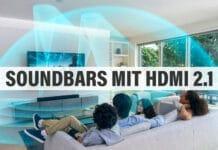 Soundbars echtem HDMI 2.1 Übersicht