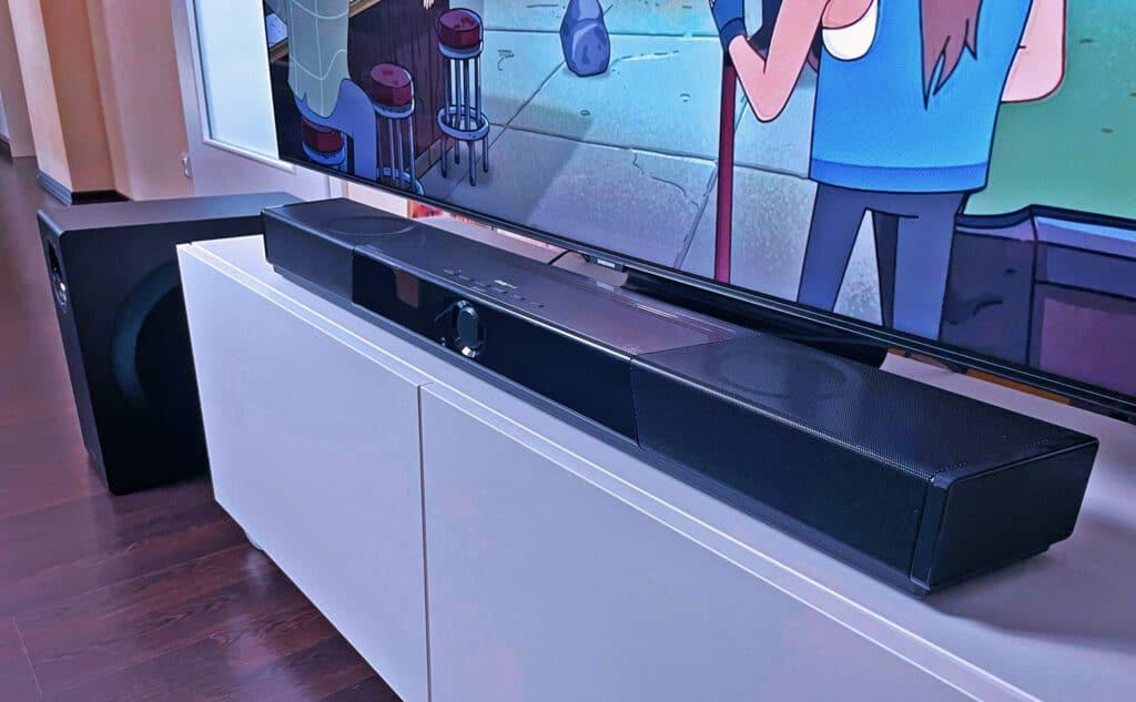 SXFI Carrier Soundbar HDMI 2.1