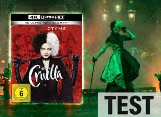 Disneys Cruella als Live-Action-Verfilmung auf 4K Blu-ray im Test