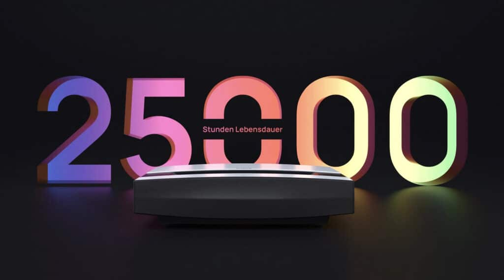 25.000 Stunden Lebensdauer Laser XGIMI Aura