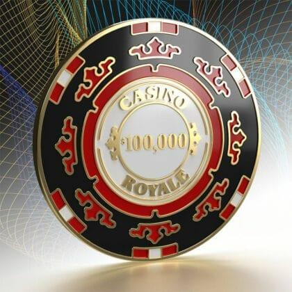 inkl. exklusivem Casino Royale Poker Chip Pin (Card Guard)