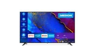 Der neue Medion Life X17572 soll viel TV für wenig Geld bieten.