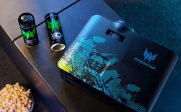 Acer Predator 4K Projektoren GD711 GM712 240Hz VRR 4000 Lumen