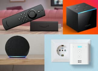 Beliebte Amazon Fire TV- und Echo-Geräte sind um bis zu 50 Prozent reduziert