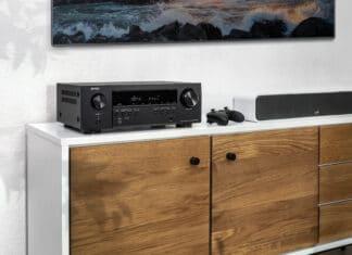 Der Denon AVR-S660H ist der derzeit günstigste AV-Receiver mit HDMI 2.1 (8K).