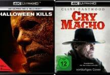 Neuzugänge auf 4K UHD Blu-ray: Cry Macho und Halloween kills
