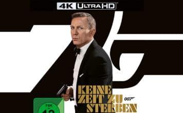 James Bond: Keine Zeit zu sterben jetzt als limitiertes 4K Blu-ray Steelbook vorbestellen
