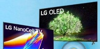 Ausgewählte 4K OLED und NanoCell Fernseher von LG zum Bestpreis!