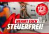 19% MwSt auf TV-Geräte, Smartphones, Notebooks, Gaming-Monitore uvm. geschenkt auf mediamarkt.de