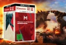 Die Monsterverse 4-Film-Collection beinhaltet alle Kong und Gozilla Neuverfilmungen als 4K Blu-ray Steelbook