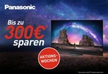 Erhaltet bis zu 300 Euro Direktrabatt beim Kauf eines 2021 Panasonic TV