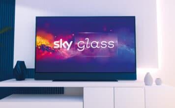 Sky Glass Streaming TV 4K QLED