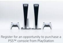 Sony eröffnet Registrierung zum Kauf einer PS5-Konsole